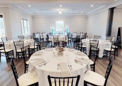 Banquet hall at Oaks Manor
