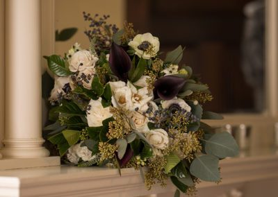 bouquet of flowers at Oaks Manor