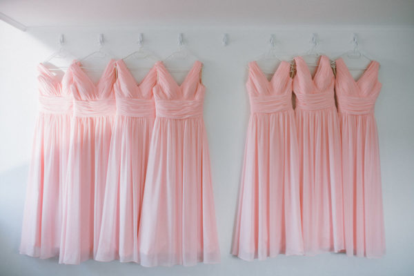 A-line bridesmaid gowns